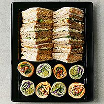 Sandwiches, rolls and wraps